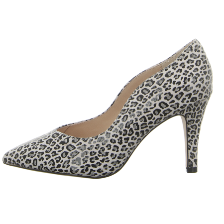 Pumps - Caprice - lt grey leo