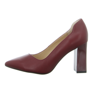 Pumps - Caprice - wine nappa