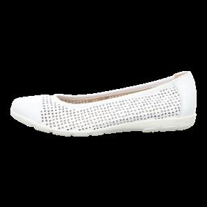 Ballerinas - Caprice - white nappa