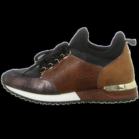Sneaker - La Strada - cracked bronze glitter