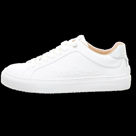 Sneaker - Pepe Jeans - Adams Logo - white