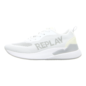 Sneaker - Replay - Botanic - white