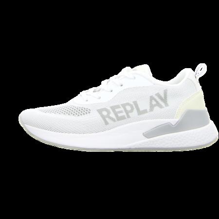 Sneaker - Replay - Botanic - white