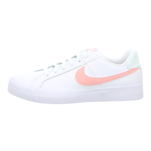 Sneaker - Nike - Court Royale Women's - white/bleaches coral-ghost aqu