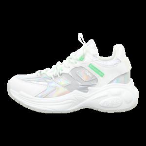 Sneaker - Buffalo - B.Nce S2 - silver/white