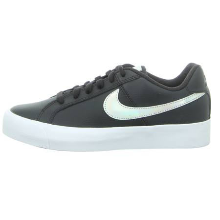 Sneaker - Nike - WMNS Court Royale AC - oil grey/silver-light crea