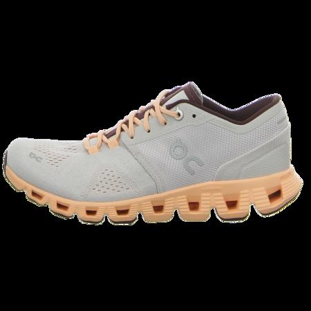 Sneaker - ON - Cloud X - silver / almond