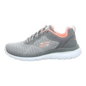 Sneaker - Skechers - Bountiful-Quick Path - gray/coral