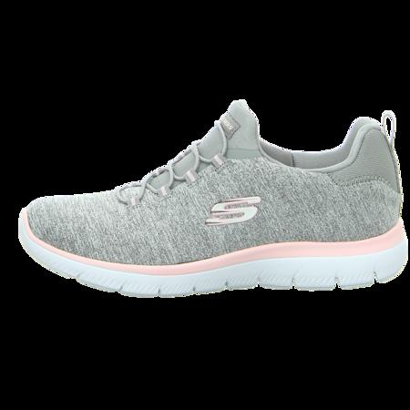 Slipper - Skechers - Summits-Quick Getaway - gray/light pink
