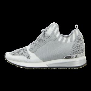 Sneaker - La Strada - grey knitted