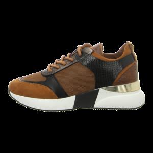 Sneaker - La Strada - Sneaker - micro dk. tan + mesh