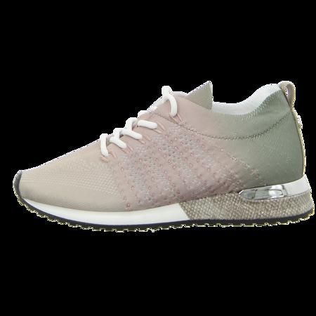 Sneaker - La Strada - beige/nude/kaki tiedye knitted