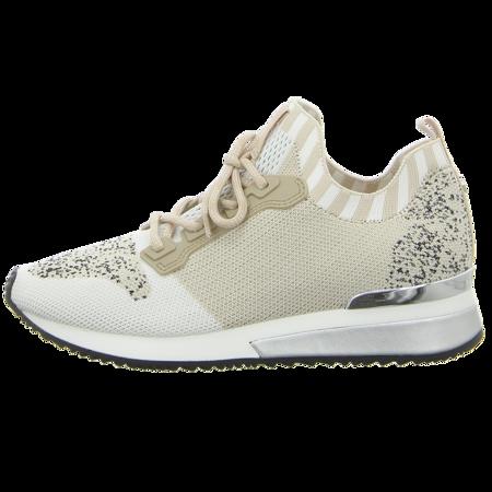 Sneaker - La Strada - beige pastel knitted