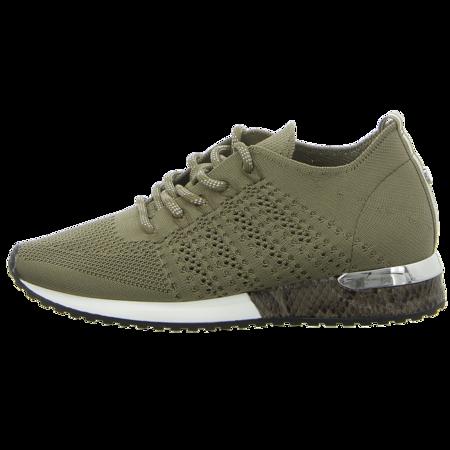 Sneaker - La Strada - knitted lt kaki