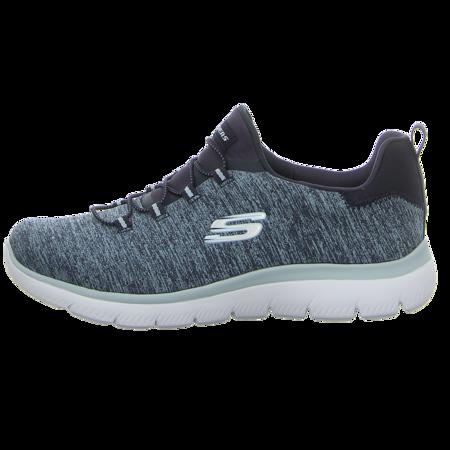 Slipper - Skechers - Summits Quick Getaway - navy / light blue