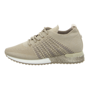 Sneaker - La Strada - beige/silver/Knitted