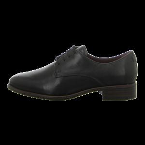 Schnürschuhe - Tamaris - black leather