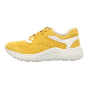 Sneaker - Caprice - yellow/white