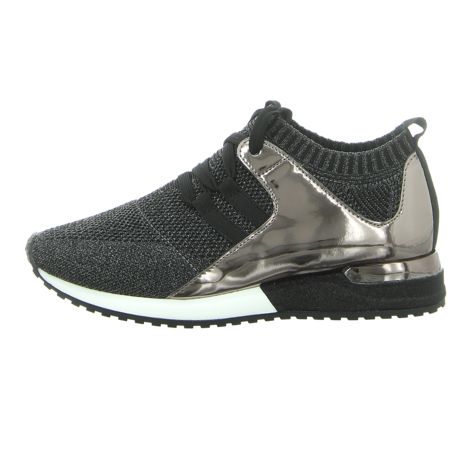 Sneaker - La Strada - Knitted Sneaker - black knitted