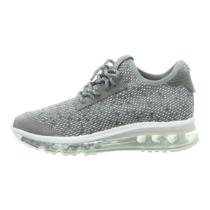 Sneaker - La Strada - Sneaker on Air Sole - knitted grey
