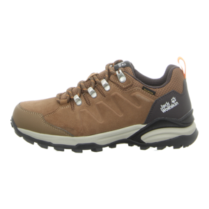 Outdoor-Schuhe - Jack Wolfskin - Refugio Texapore Low - brown / apricot