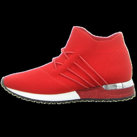 Sneaker - La Strada - red knitted