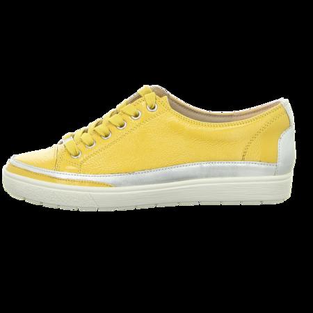 Schnürschuhe - Caprice - lemon