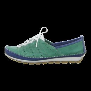 Slipper - Gemini - blau/grün
