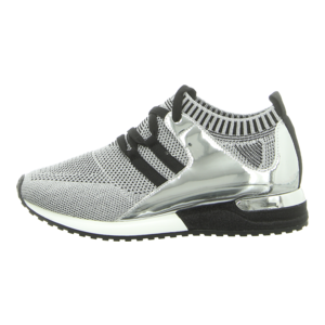 Sneaker - La Strada - Knitted Sneaker - knitted silver