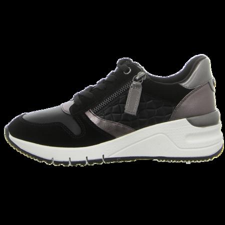 Sneaker - Tamaris - blk/pewter com