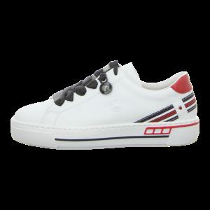 Sneaker - Rieker - weiss