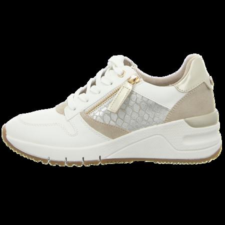 Sneaker - Tamaris - wht/lt.gold co