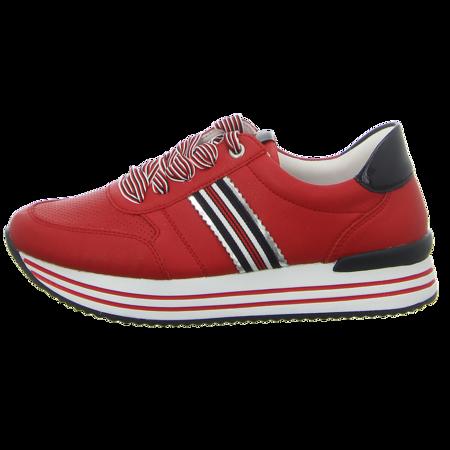 Sneaker - Remonte - rot kombi
