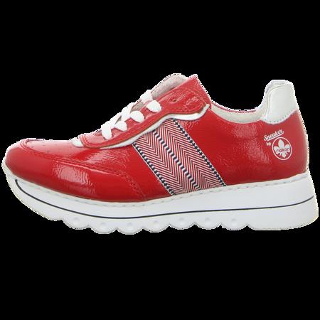 Sneaker - Rieker - rot