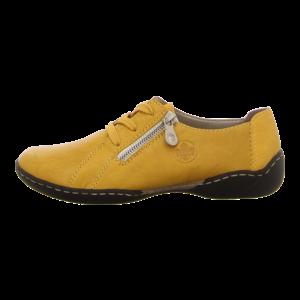 Schnürschuhe - Rieker - gelb