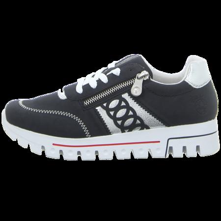 Sneaker - Rieker - blau kombi