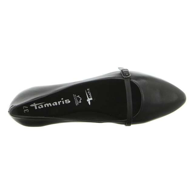 Tamaris - 1-1-24234-22-003 - 1-1-24234-22-003 - black - Ballerinas