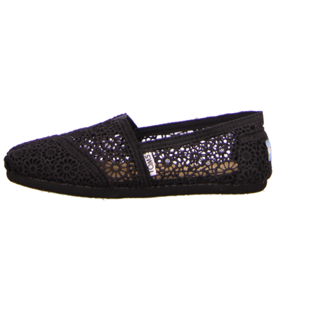 Slipper - TOMS - Alpargata - black