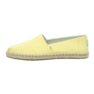 Slipper - TOMS - Classic - plant dyed yellow