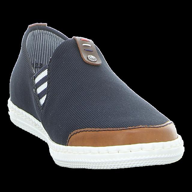 Rieker - M2754-24 - M2754-24 - blau - Slipper