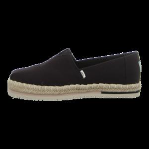 Slipper - TOMS - Alpargata Platform R - black