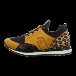 Sneaker - Rieker - gelb kombi