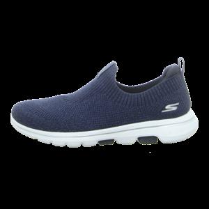 Slipper - Skechers - Go Walk 5-Trendy - navy/white