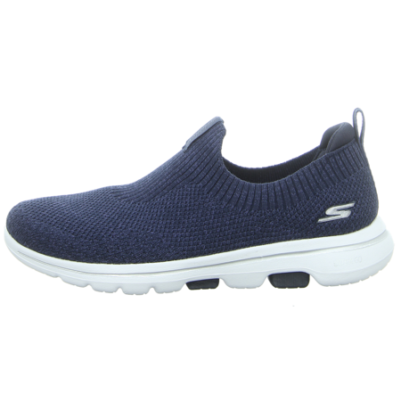 Slipper - Skechers - Go Walk 5-Trendy - navy/white