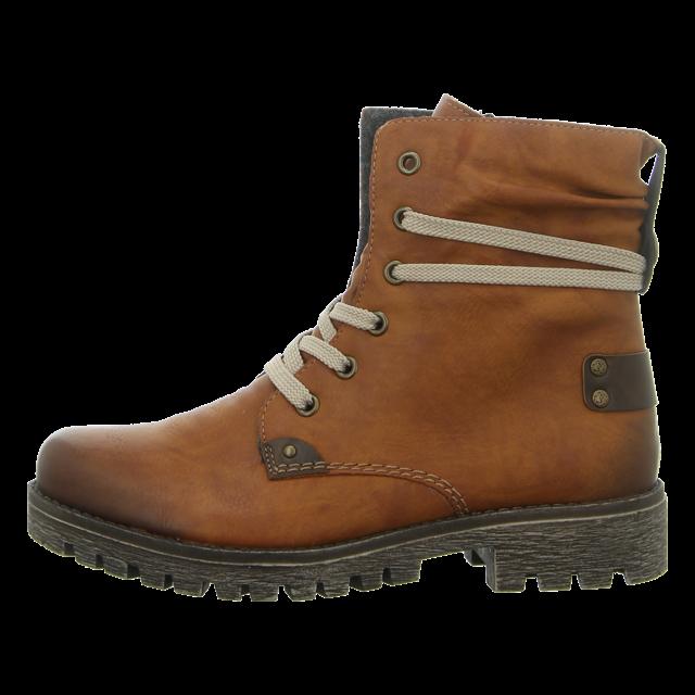 Rieker 78530 Schuhe Damen Stiefeletten Boots Warmfutter