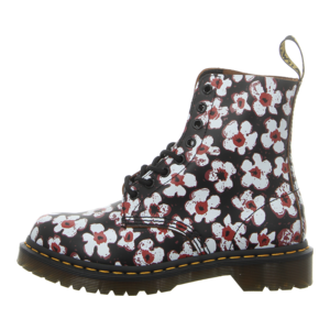 Stiefeletten - Dr. Martens - 1460 Pascal - black+red