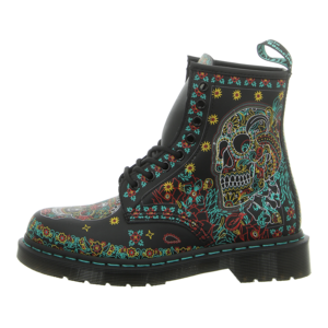 Stiefeletten - Dr. Martens - 1460 Skull - day of the dead