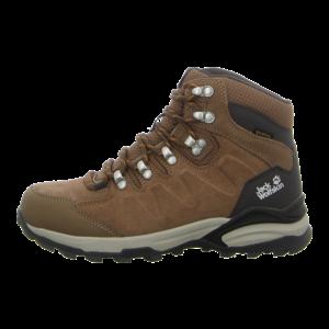 Outdoor-Schuhe - Jack Wolfskin - REFUGIO MID W - brown / apricot