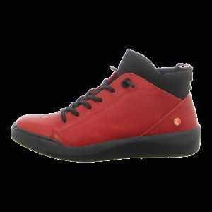 Sneaker - Softinos - BIEL549SOF - red/black neoprene