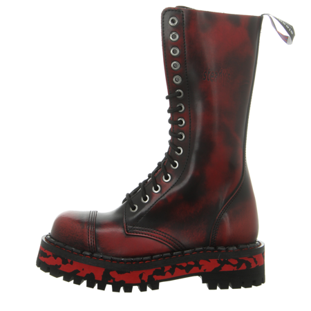 Stiefeletten - Steady's - black/red